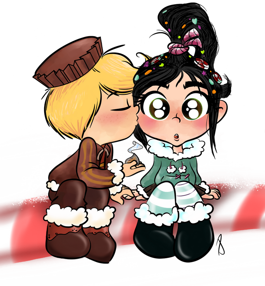 Wreck It Ralph Vanellope And Rancis Vanellope and rancis in love