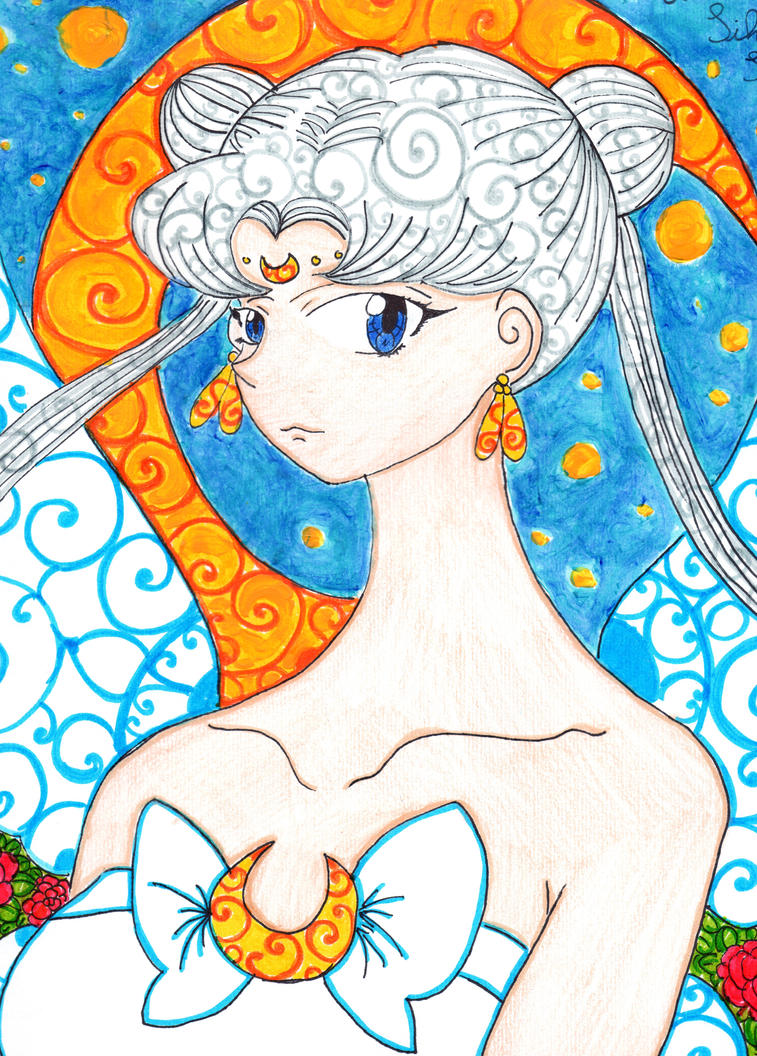 :BSSM:Queen Serenity: by kittyitty