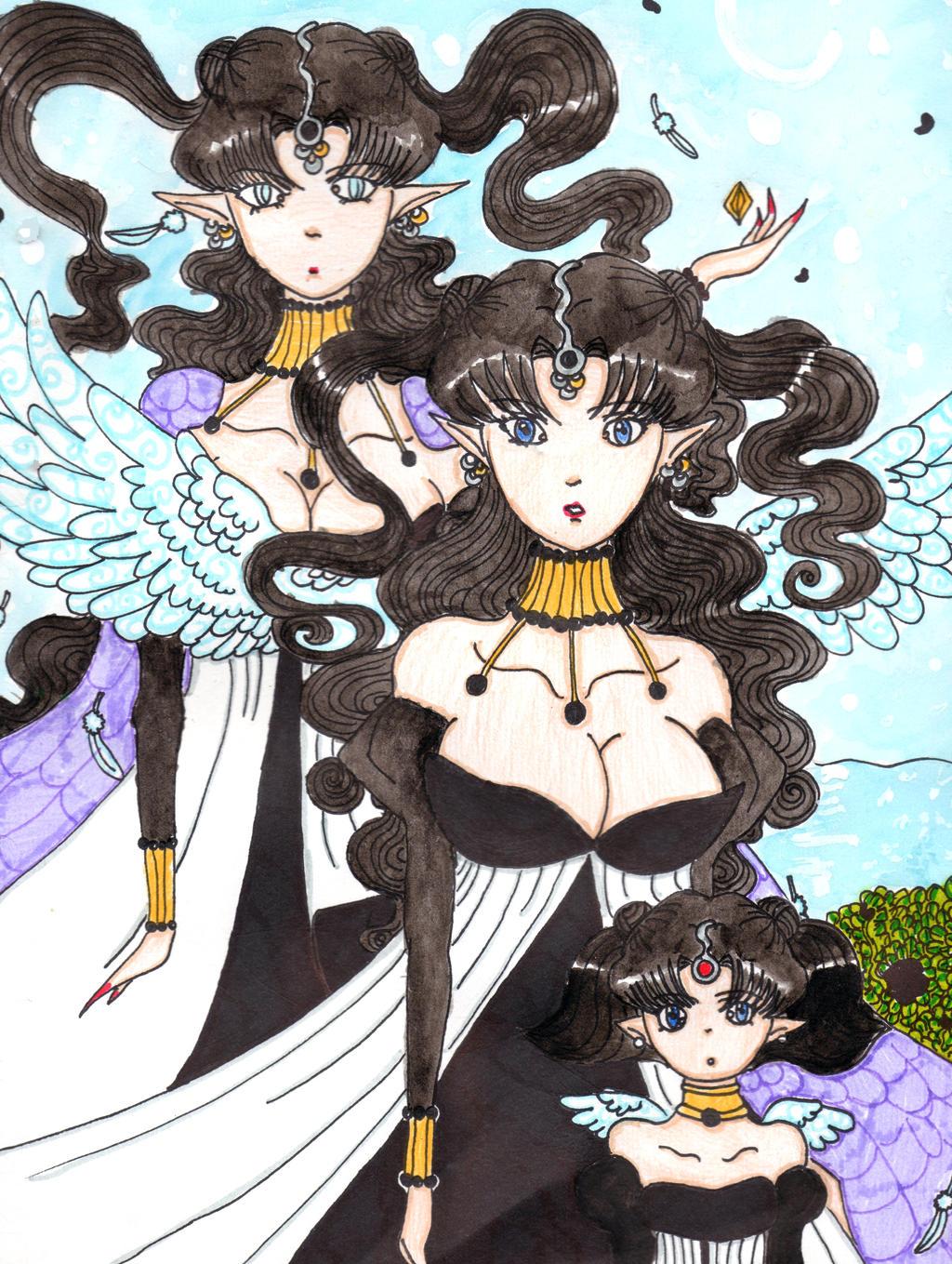:.BSSM:The Evolution of Queen Nehelenia.: by kittyitty