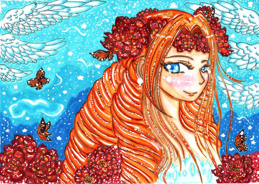 :.ROSA DEI:Caterina Sforza.: by kittyitty