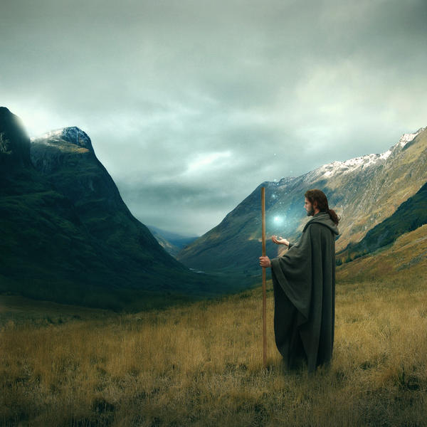 A Wizard's Wake