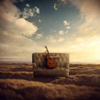 The Anonymous Musician by theflickerees