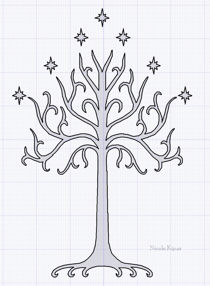 Whte Tree Of Gondor By Barnowler On Deviantart