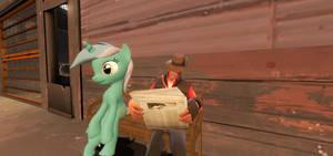 Sniper and Lyra