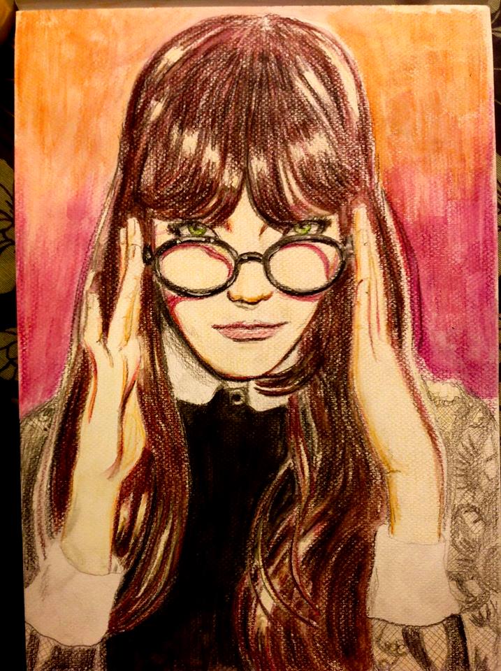 Glasses - Watercolor by RodrigoDiazColor