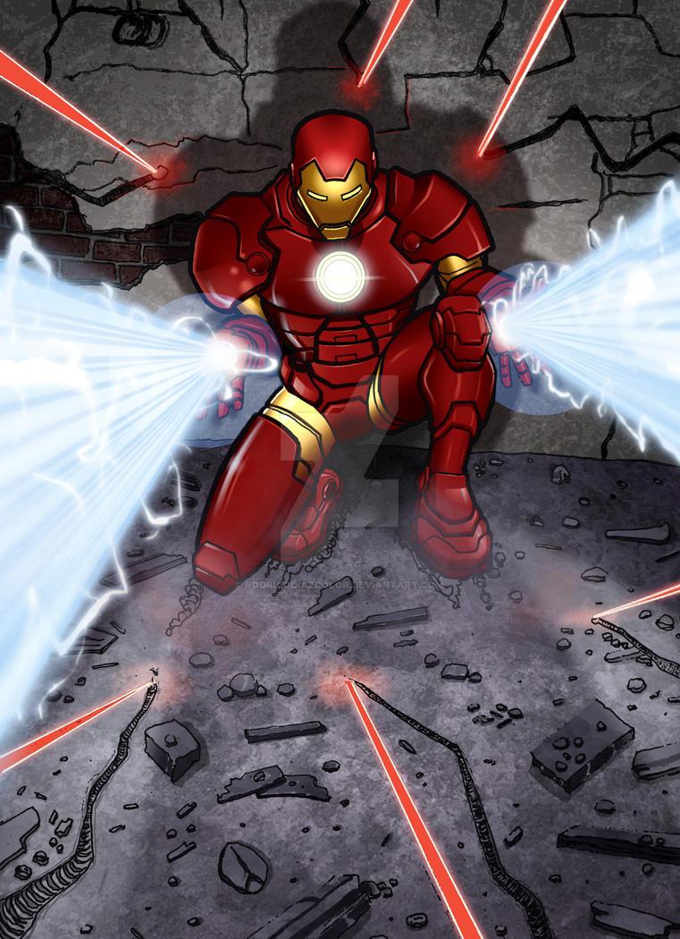 Iron Man by RodrigoDiazColor