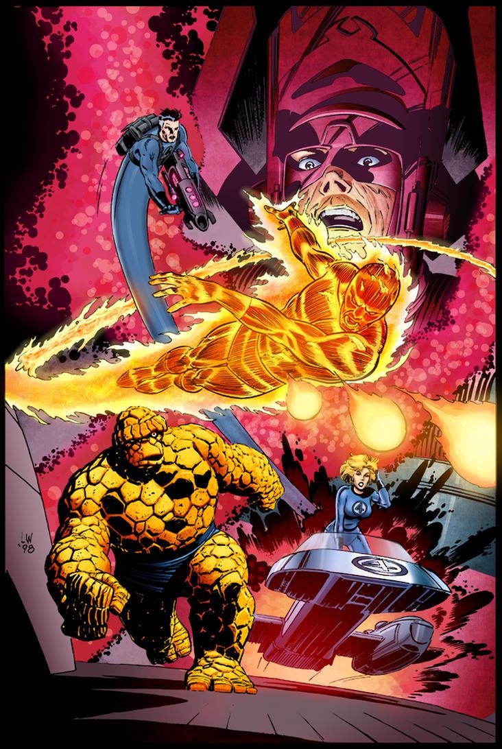 Fantastic Four - Art by Lee Weeks - Marvel Comics by RodrigoDiazColor
