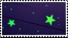 stars stamp by vcrbit
