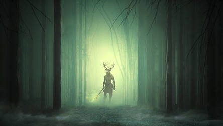 Forest Titan by CaelGibran