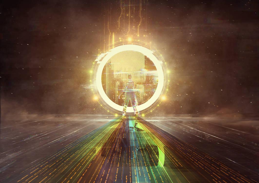 Portal do Universo by CaelGibran