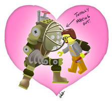 Tribute: Nerds Making Out LEGO