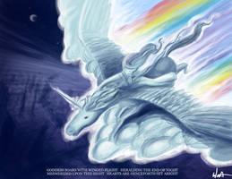 Goddess Heralds the Dawn