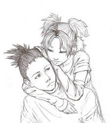 ShikaTema sketch by Tobitkiwi