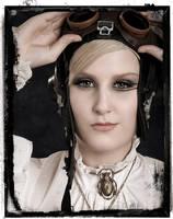 Steampunk Bela's Necklace by clockwork-zero