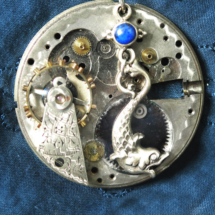 Steampunk Sea Monster by clockwork-zero