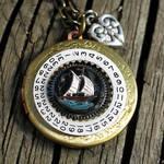 Steampunk Pirate's Locket