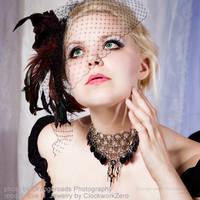 Burlesque Steampunk Girl by clockwork-zero