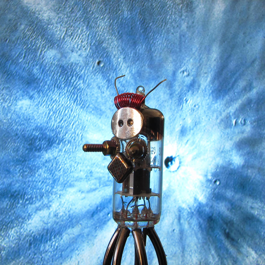 Cool Impact 3 - Toy Robot Explores Space by clockwork-zero