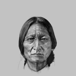 Sitting Bull by phan-tom