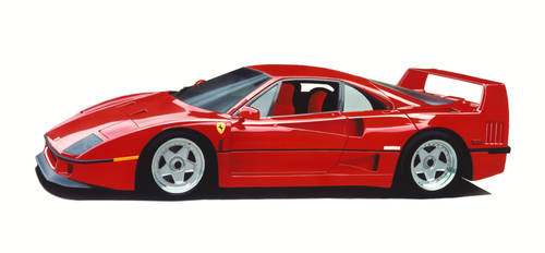 Ferreri F40 by phan-tom