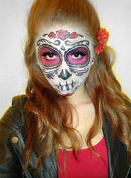 Sugar Skull (Day of the Dead Face Paint) 2
