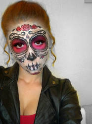 Sugar Skull (Day of the Dead Face Paint) 3