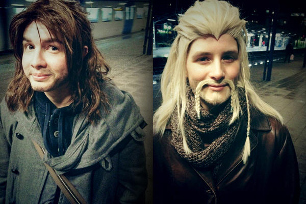 Kili and Fili tryout by shisukoisa