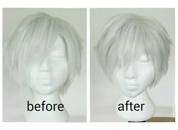 Wig Commission - Tokyo Ghoul: Kaneki Ken by shisukoisa