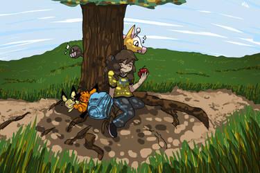 Lato League: Let's Get Pokemon 2 by dia-phantom