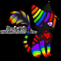 Neon Perolis Felidae Adopt -Closed- by illusionadopts260