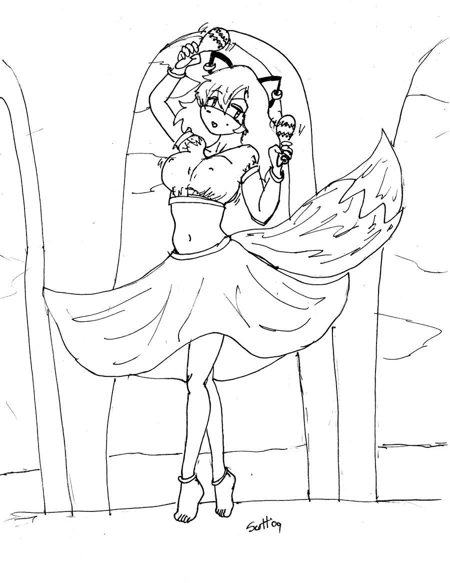 Flamenco Fox