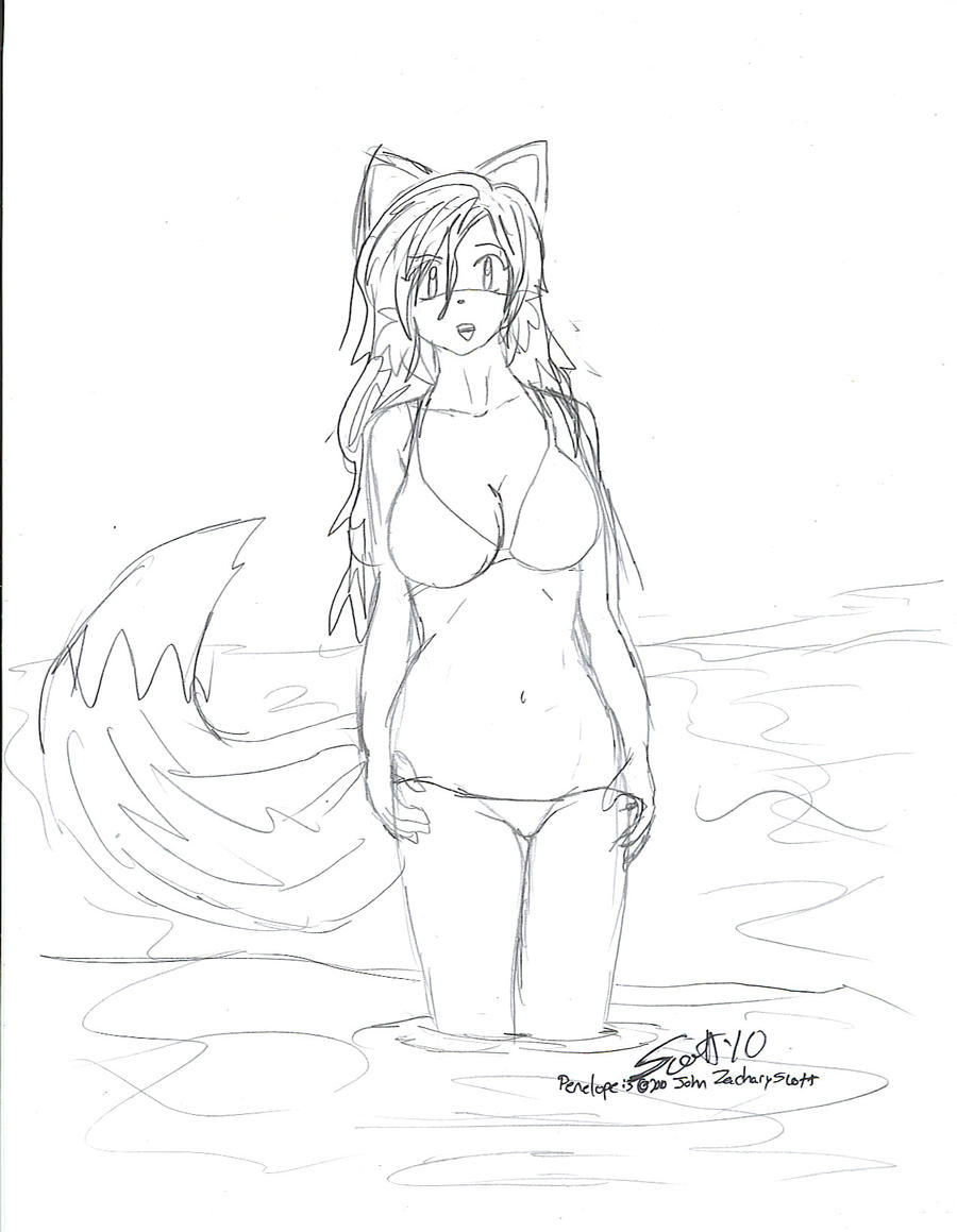 Penelope in a Bikini again