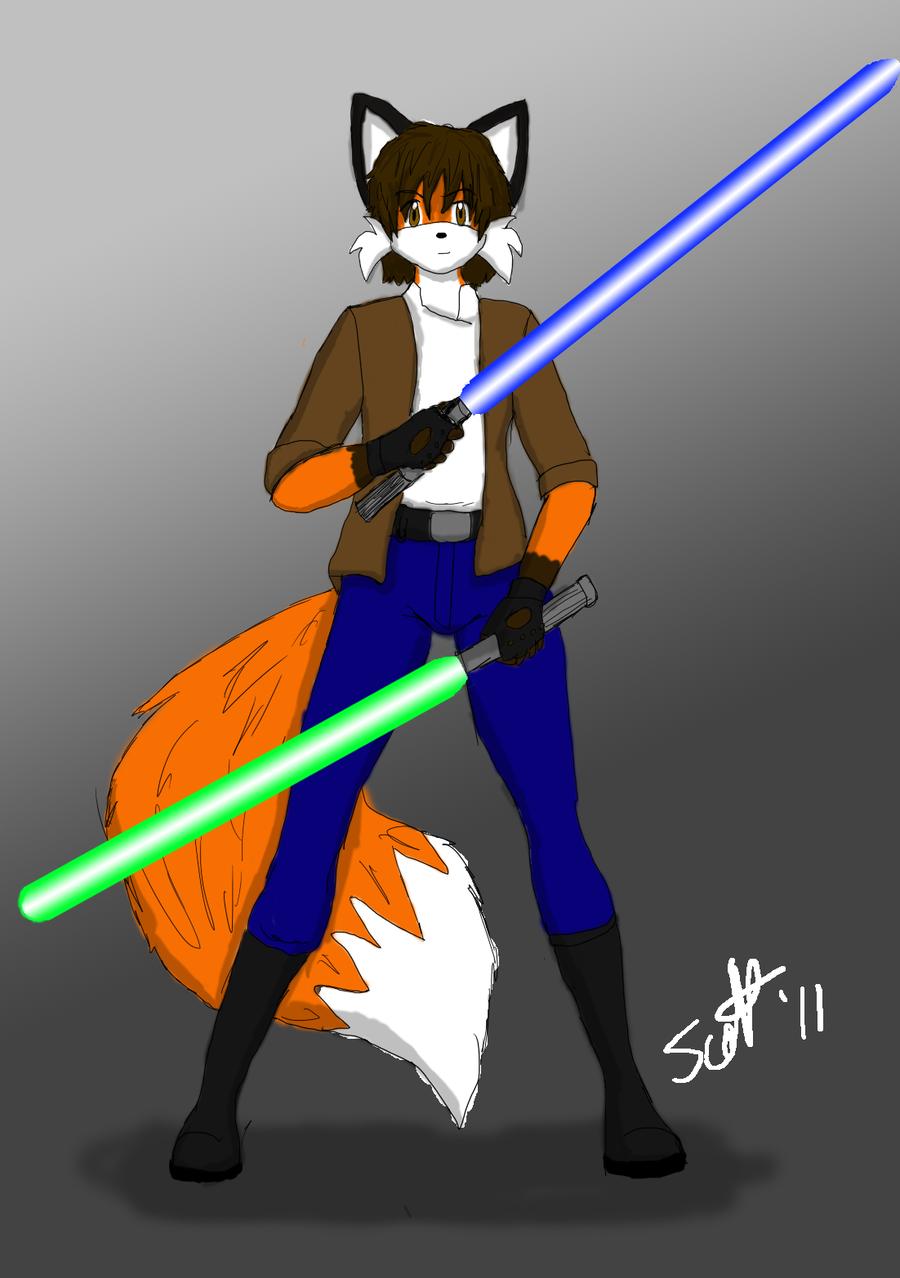 Gray Jedi by JohnZScott
