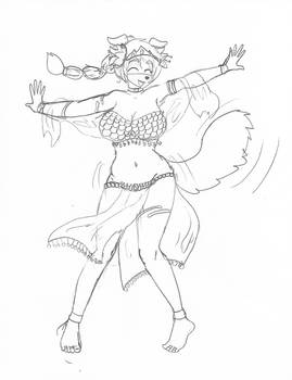 Belly Dancing Doggo