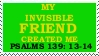 Psalms 139 stamp by Spirogs