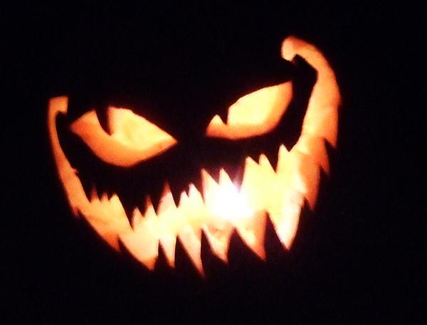 evil face pumpkin template - jack o lantern by spirogs on deviantart