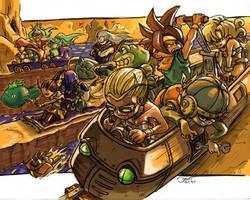 Chrono Racerball Z