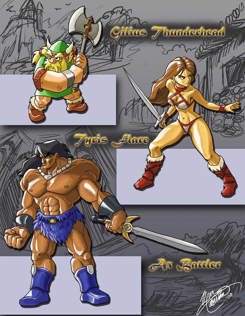 Golden Axe by dchan316