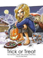 Abby, Trick or Treat