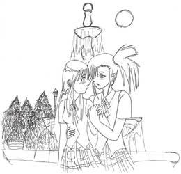 kanoe and setsuna by finex666