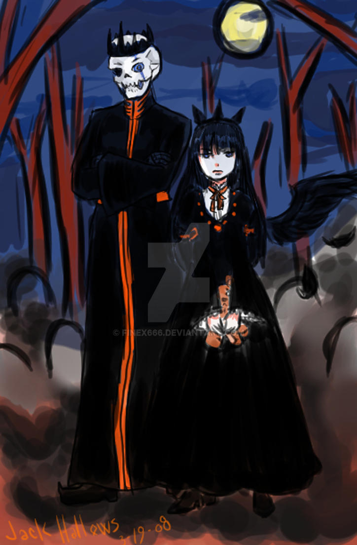 Emperor and Empress of the Dead by finex666