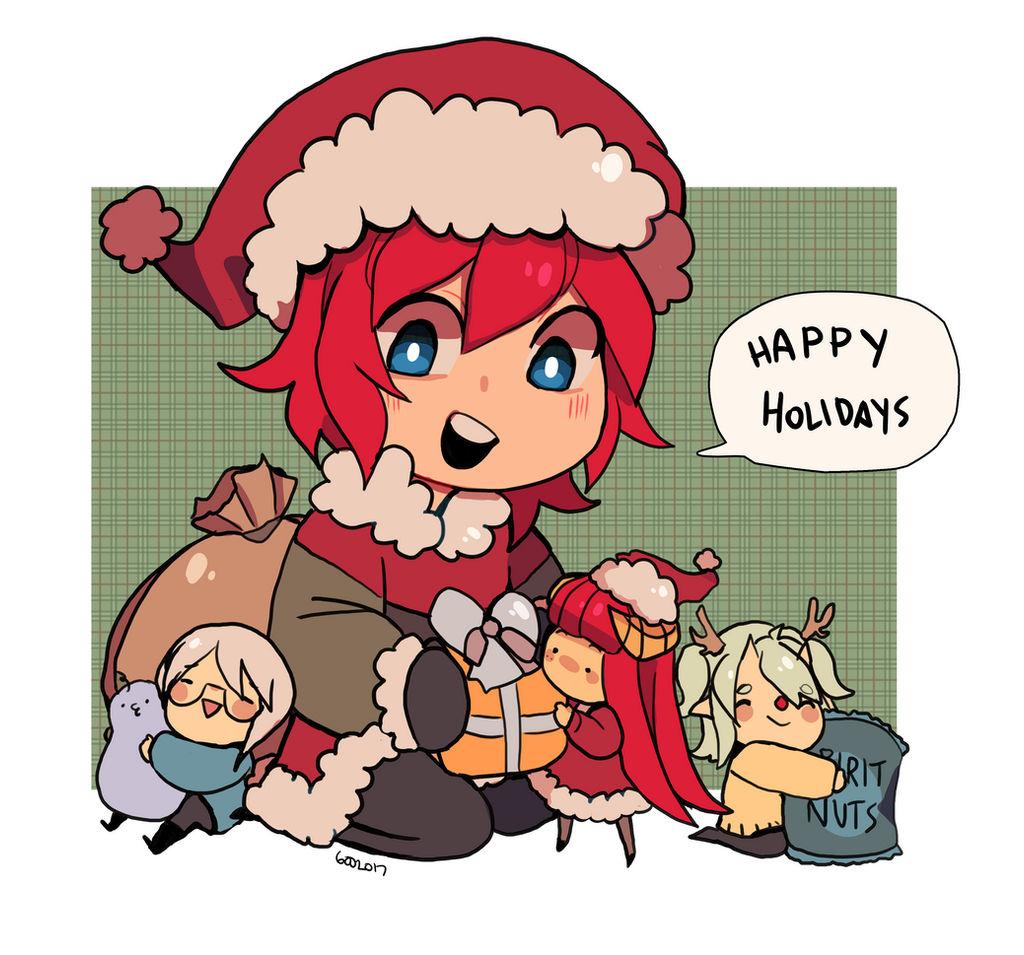 @XXIII: Happy Holidays by 6ooey