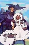 Pokemon: Corviknight and Wooloo