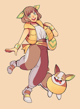Pokemon: Yamper!!!