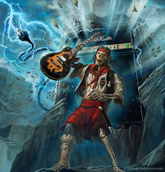 Heavy Metal Gaucho! by gonzalokenny