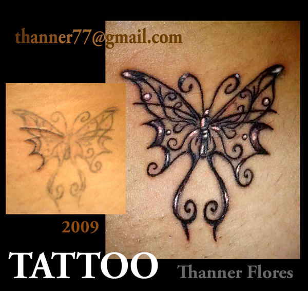 butterfly cover up