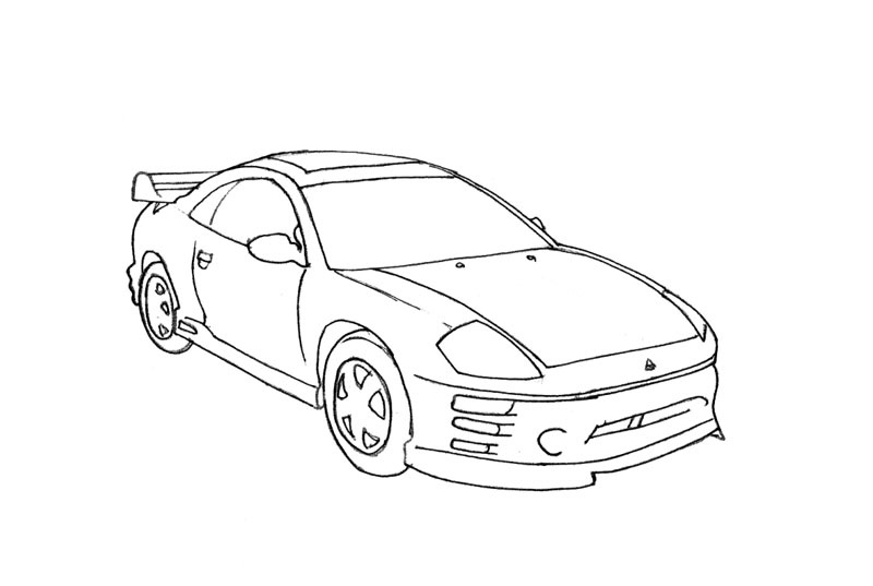 fast and furious 7 colouring pictures color yourself