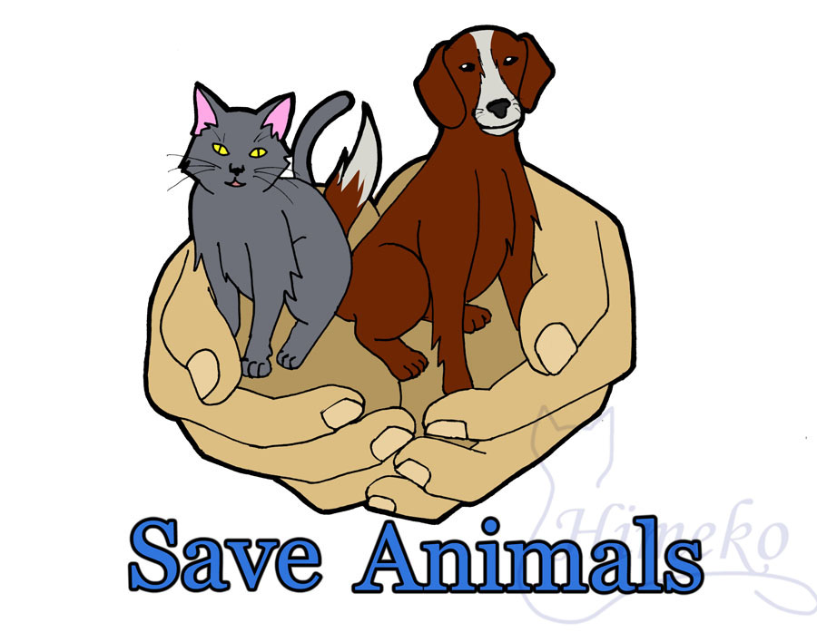 Save Animals Logo by himeko on DeviantArt