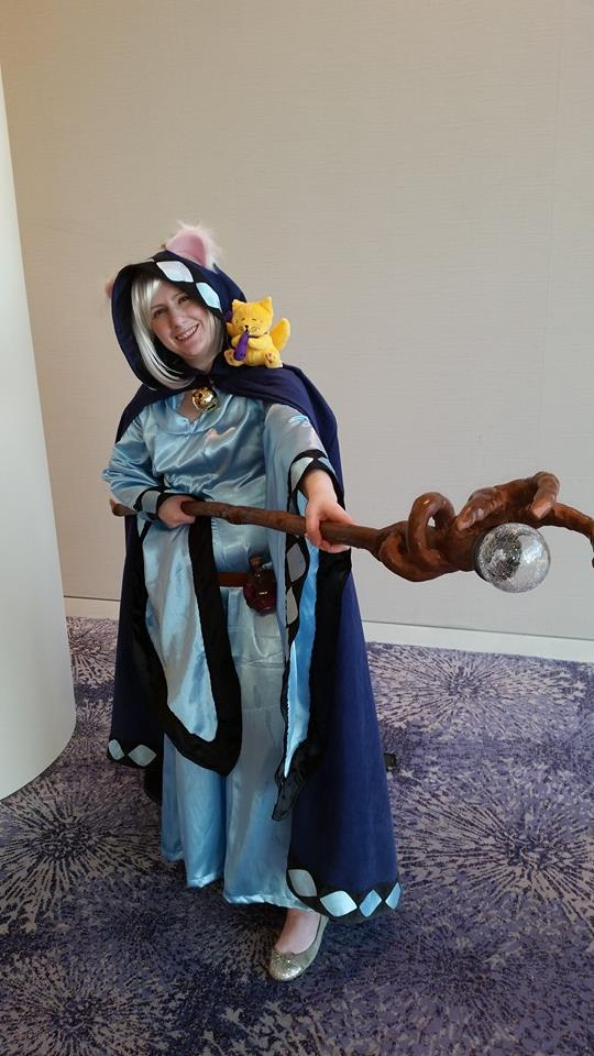TabbyBrook Mage Cosplay by himeko