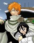 Bleach: Ichigo and Rukia
